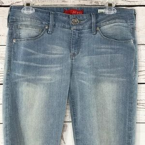 Guess Jeans Ankle Skinny Emma Light Wash Stretch